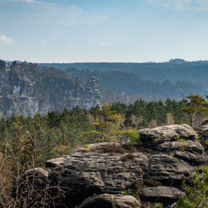 Der schöne Ausblick vom Rauenstein zur Bastei als Beispiel für ein Ergebnis aus dem PhotoWALKshop